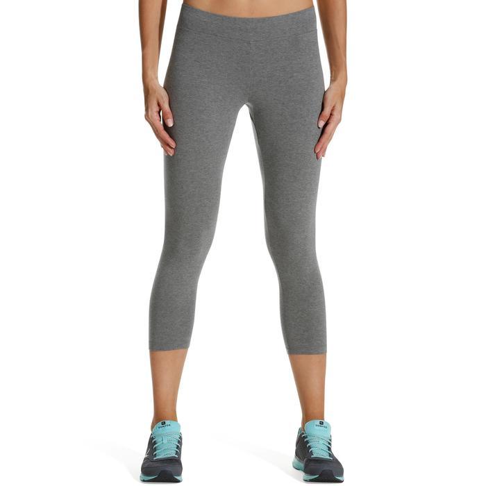 Legging 7/8 FIT+ 500 slim Gym & Pilates femme noir - 752247