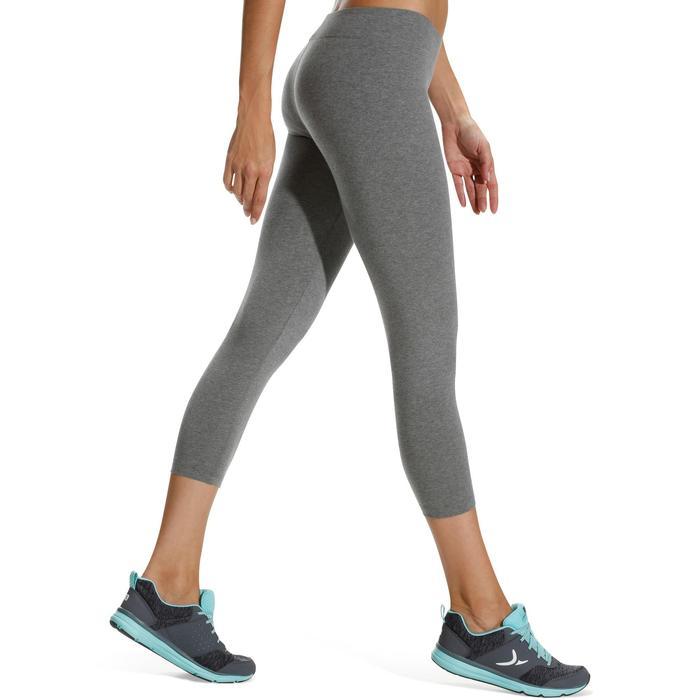 Legging 7/8 FIT+ 500 slim Gym & Pilates femme noir - 752251