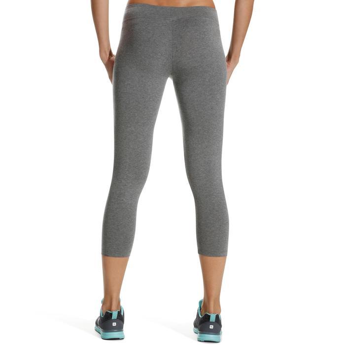 Legging 7/8 FIT+ 500 slim Gym & Pilates femme noir - 752252