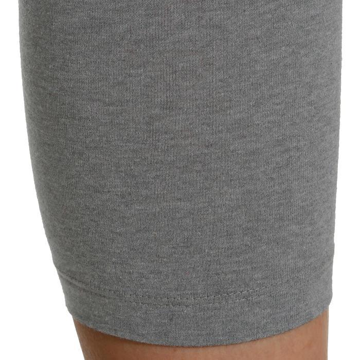 Legging 7/8 FIT+ 500 slim Gym & Pilates femme noir - 752258