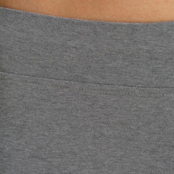 Legging 7/8 FIT+ 500 slim Gym & Pilates femme noir - 752279