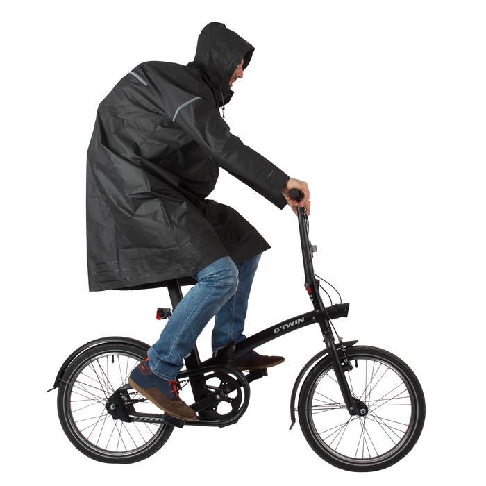 Poncho pluie vélo ville 500 adulte - 75237
