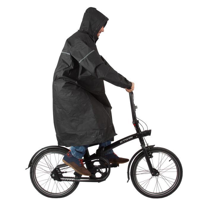 Poncho pluie vélo ville 500 adulte - 75239