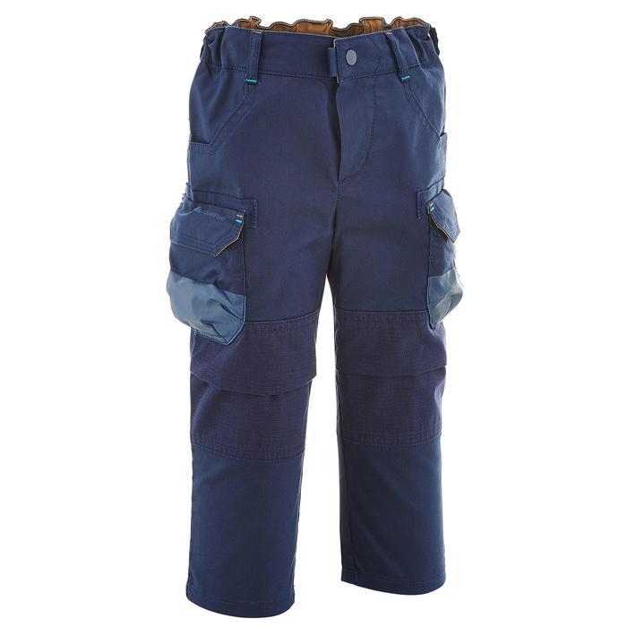 Pantalon de randonnée enfant Hike 500 marron clair - 752740