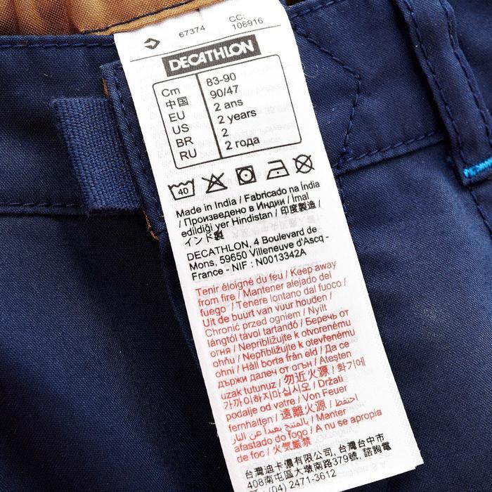 Pantalon de randonnée enfant Hike 500 marron clair - 752750