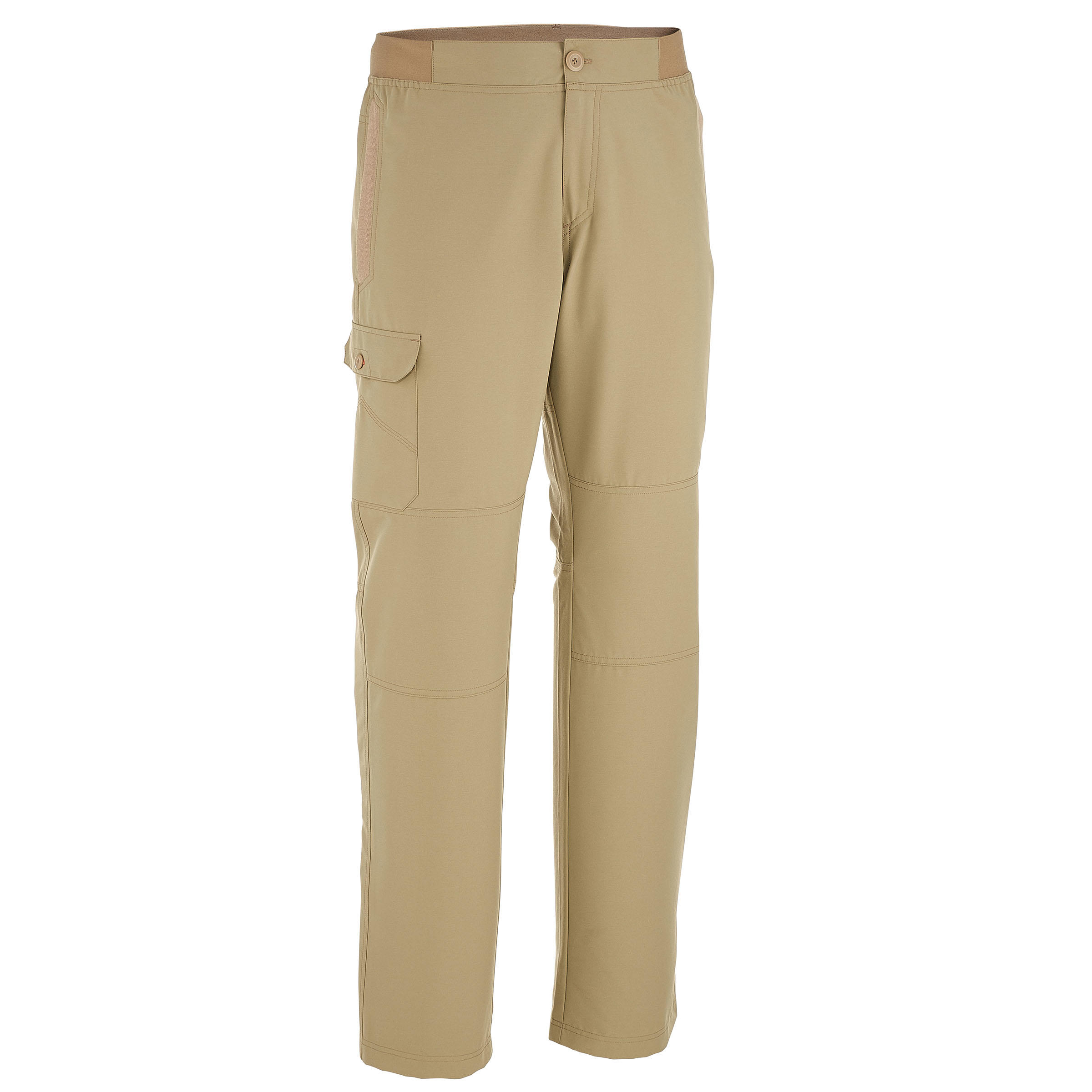 Arpenaz 50 Men's Plain Hiking Trousers - Beige