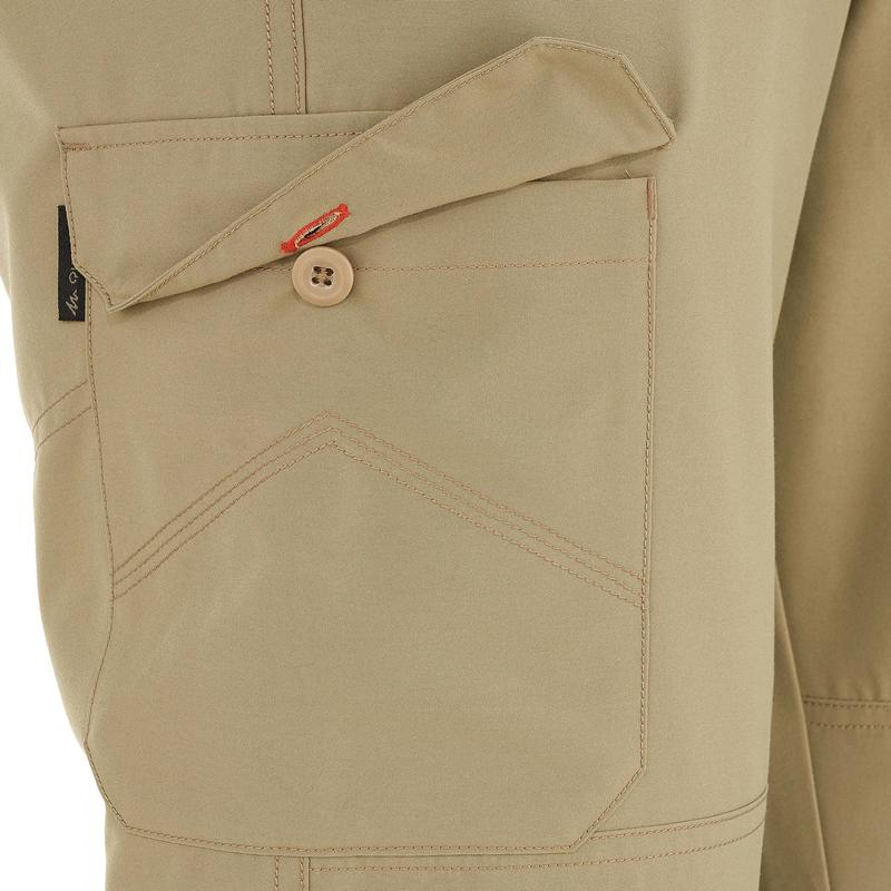 Men's NH100 Country Walking Trousers - Beige