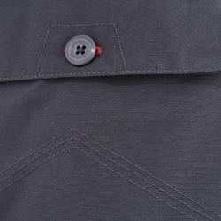 Wanderhose NH100 Herren grau für Naturwanderungen