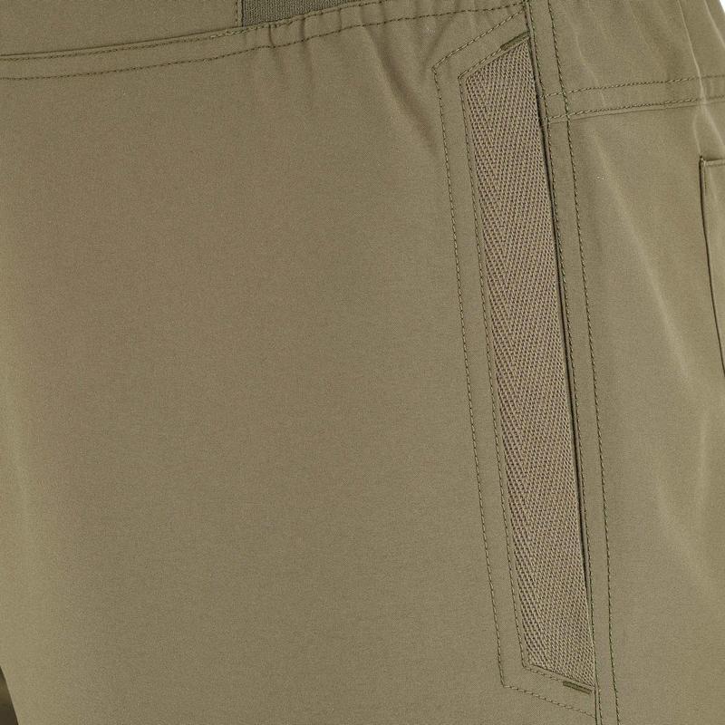 Pantalón senderismo en la naturaleza hombre NH100 caqui
