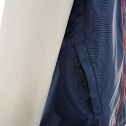 Casaco de Caminhada Impermeável Criança MH150 Azul-marinho/ Cinza 7 A 15 ANOS
