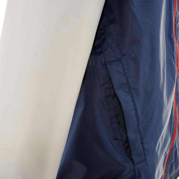 Chaqueta impermeable de senderismo júnior Hike 150 Azul marino