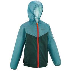 Jongens regenjack voor wandelen Hike 100 - 752877