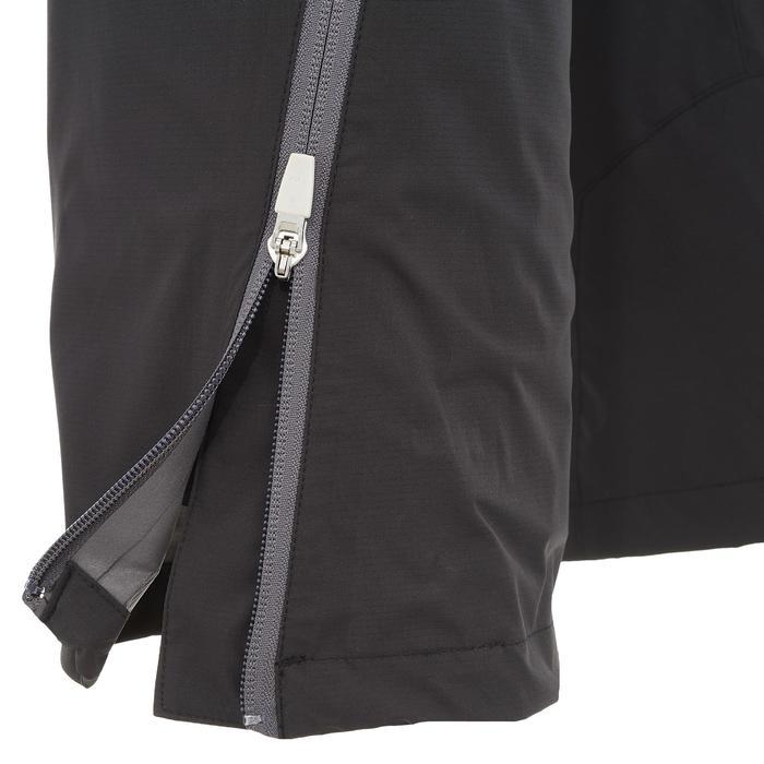 Sur-pantalon de pluie imperméable de randonnée Montagne MH 500 Femme Noir