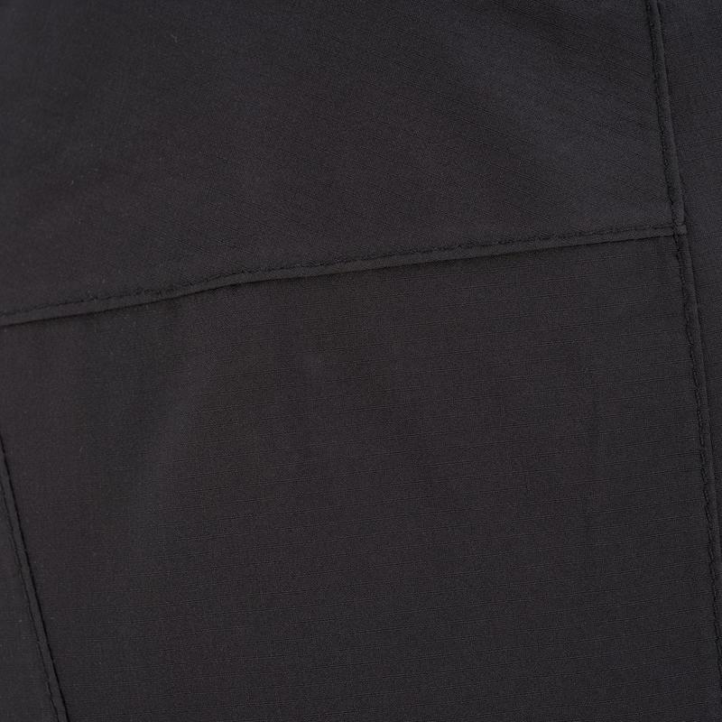 Women's Hiking Rain Pants Forclaz100 (Over Trousers) - Black