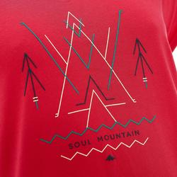 T-shirt korte mouwen trekking dames Arpenaz 100 - 753110