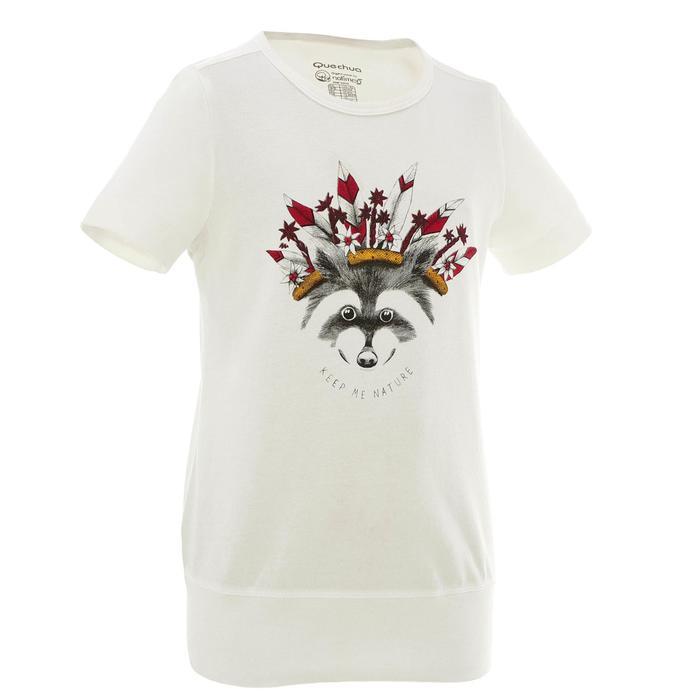 T-Shirt de randonnée enfant fille Hike 500 hibou - 753112
