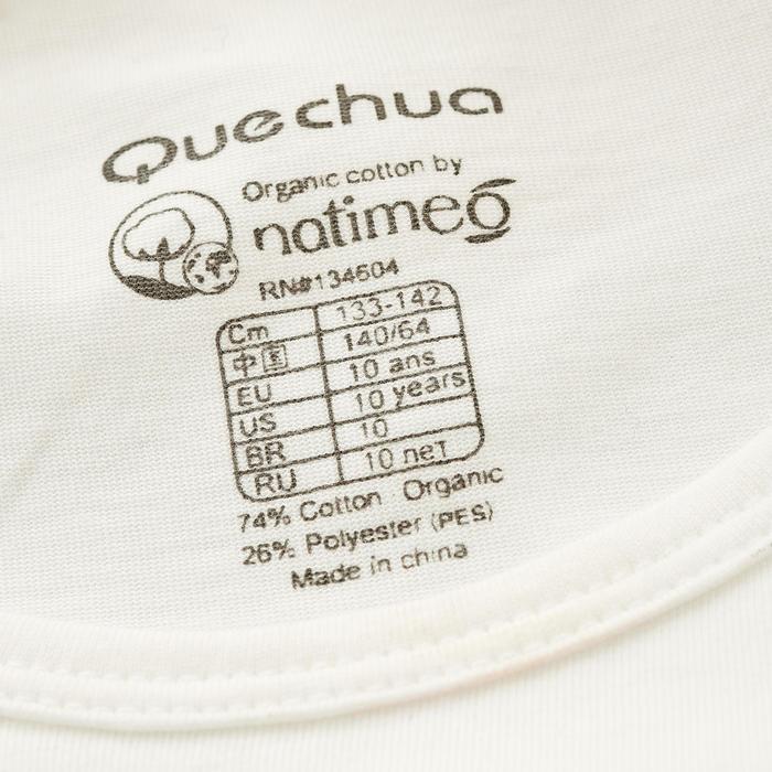 T-Shirt de randonnée enfant fille Hike 500 hibou - 753118