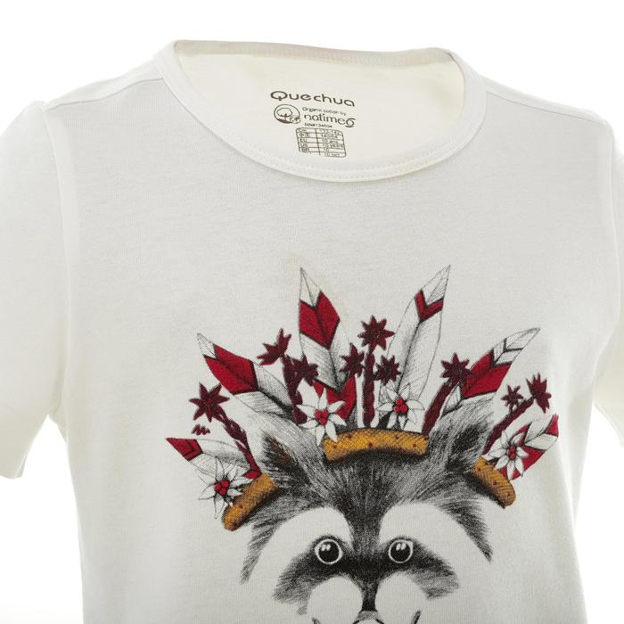 T-Shirt de randonnée enfant fille Hike 500 hibou - 753119