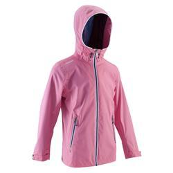 Chubasquero náutico 100 niños rosa claro
