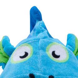 Kinderponcho met kap Zebro blauw - 753318