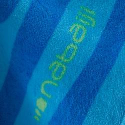 Kinderponcho met kap Zebro blauw - 753321