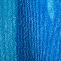 Kinderponcho met kap Zebro blauw - 753322