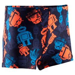 Zwemboxer Titou voor jongens all fish - 753340