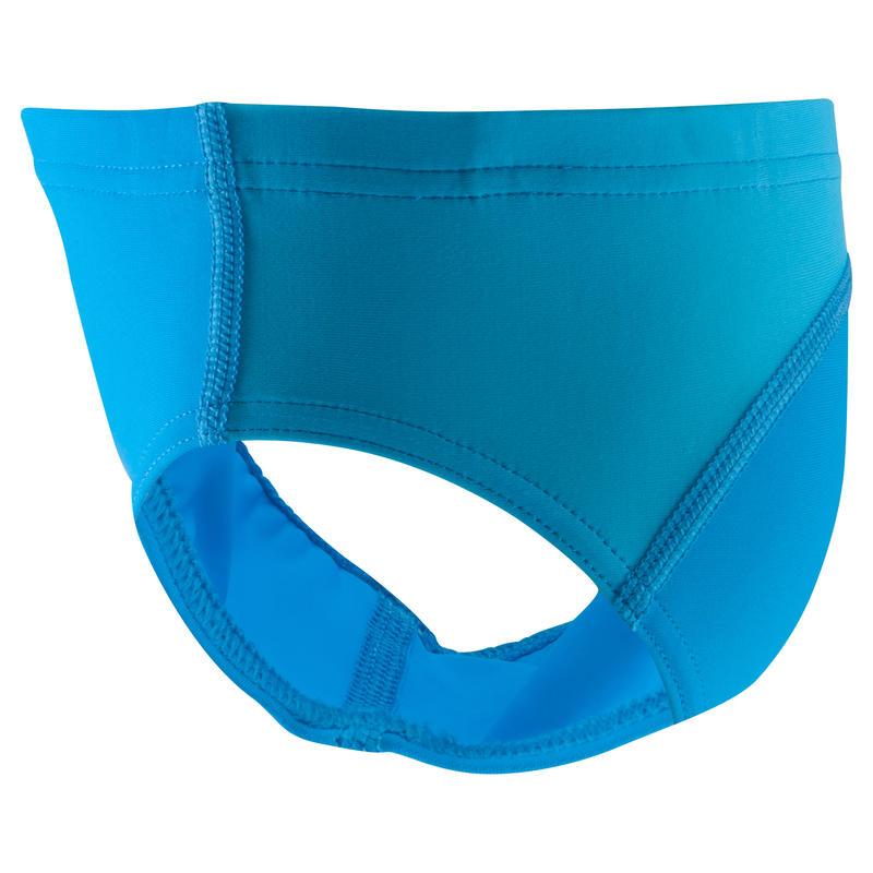 Traje de baño de natación bebé niño slip yoke azul