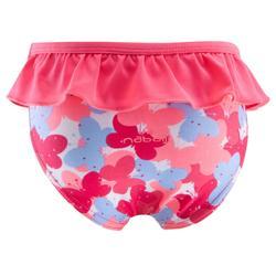 """Bañador 1 pieza braguita bebé niña rosa estampado """"mariposas"""""""