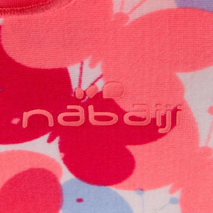 Peuterzwembroekje voor meisjes roze met vlinderopdruk