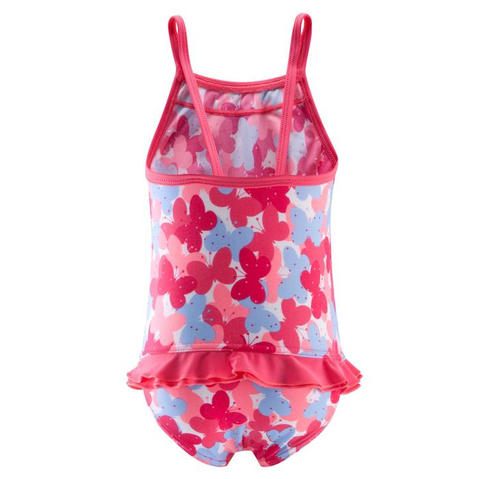 Badeanzug Madina+ Baby Mädchen Print Schmetterling rosa