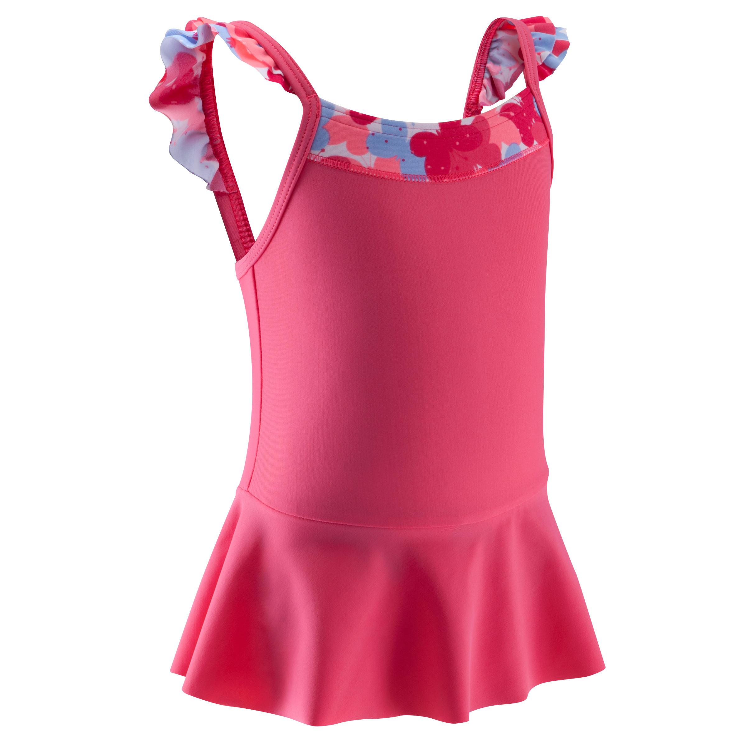 Madina+ Baby Girls' Miniskirt Swimsuit - All Fly