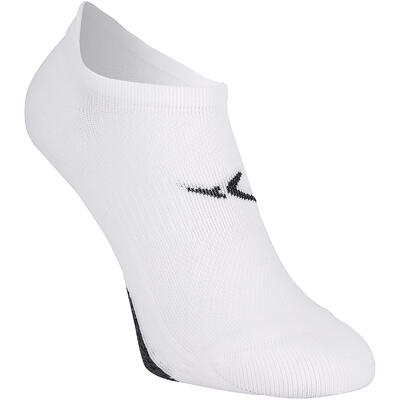 Invisible Fitness Cardio Training Socks Twin-Pack - White