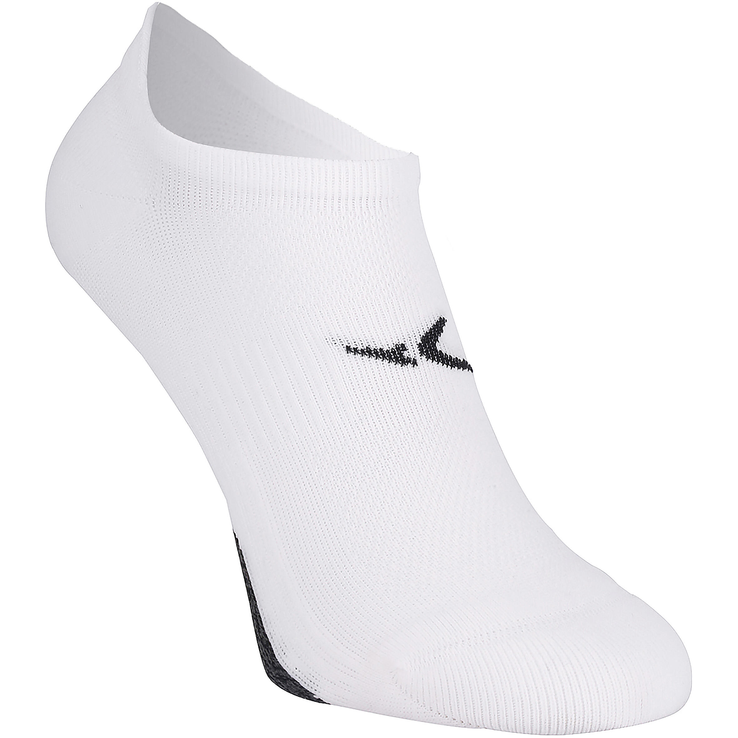 Calcetines invisibles fitness x2 blanco