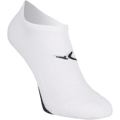 Шкарпетки короткі для фітнесу і кардіотренувань, 2 пари - Білі