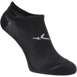 Onzichtbare sokken voor fitness en cardiotraining 2 paar zwart