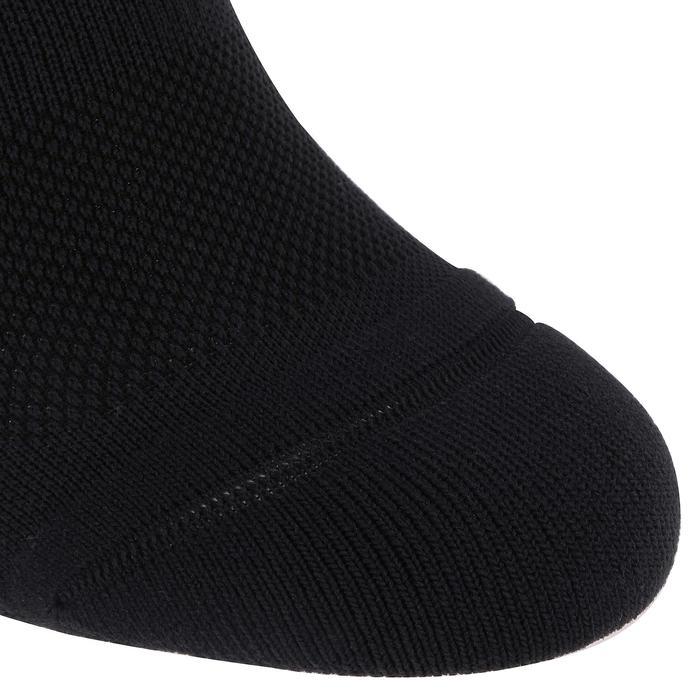 Sportsokken fitness onzichtbaar 2 paar, zwart