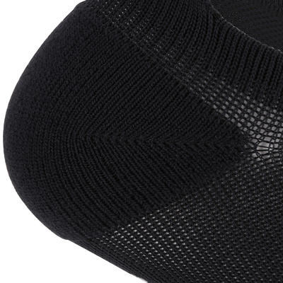 Шкарпетки короткі для кардіо-тренувань і фітнесу, 2 пари - Чорні