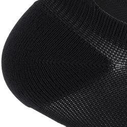 Sportsocken Invisible Cardio-/Fitnesstraining 2er-Pack Invisible schwarz