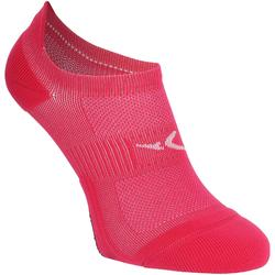 Sportsocken Invisible Cardio-/Fitnesstraining 2er-Pack rosa