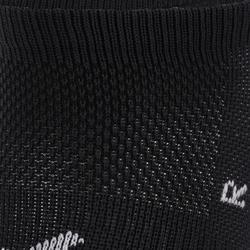 Onzichtbare sokken cardiofitness 2 paar zwart