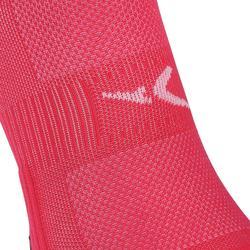 Sportsocken Invisible Cardio-/Fitnesstraining 2er-Pack rosa