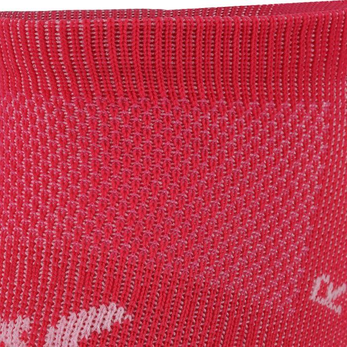 Onzichtbare fitnesssokken cardiotraining 2 paar roze
