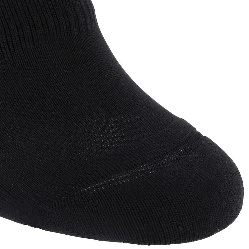 ถุงเท้ากันลื่นสำหรับการยืดเส้นและพิลาทิส (สีดำ)