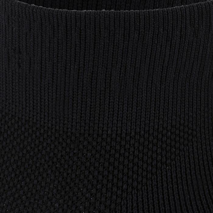 Calcetines Antideslizantes Cortos Gimnasia Pilates Negro