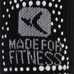 Antislip sokken voor pilates en lichte gym zwart