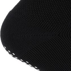 Chaussettes antidérapantes Pilates Gym douce noir