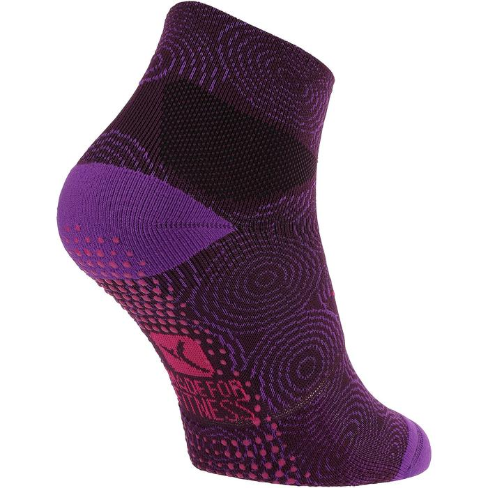 Chaussettes antidérapantes fitness - 753640