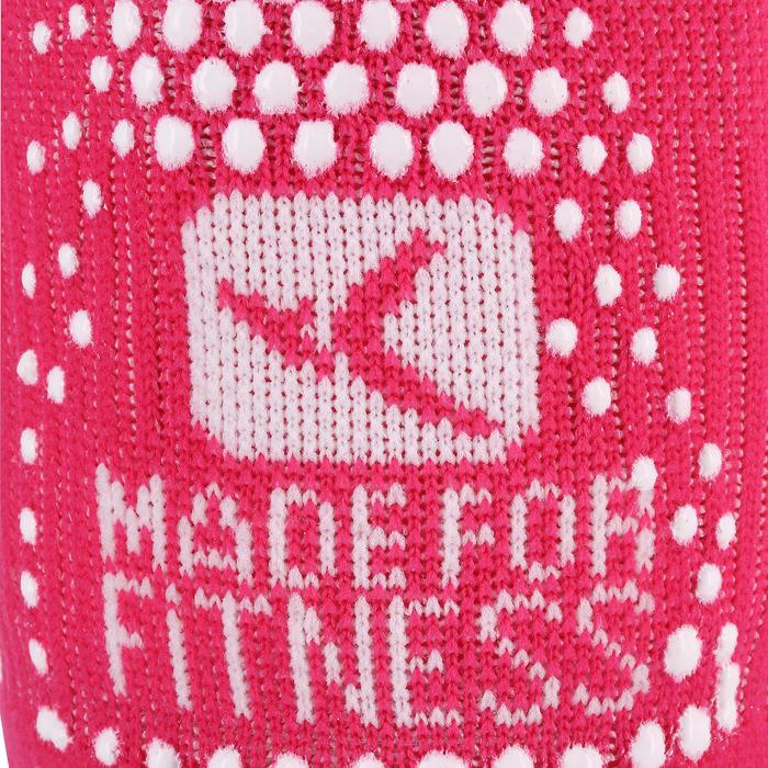 Antislip fitnesssokken roze