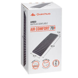 Air Comfort 70 One-person Inflatable Camping Mattress.